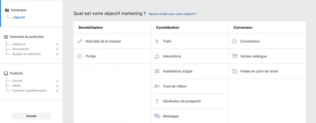 agence social media biarritz budget facebook