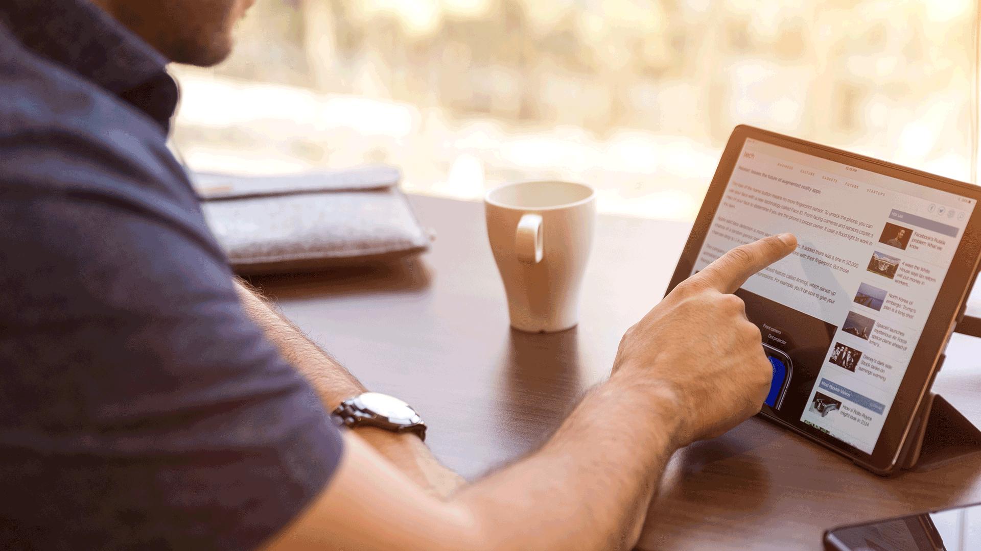 publicité-tablette-linkedin
